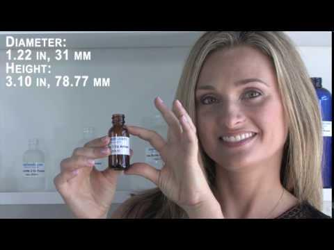 Glass Bottle 1 Oz Amber