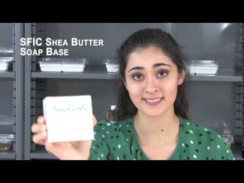 SFIC Shea Butter Soap Base Soy Free