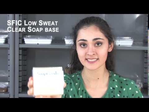 SFIC Low Sweat Clear Soap Base Soy Free