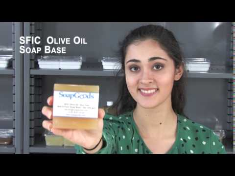 SFIC Olive Oil Soap Base Soy Free
