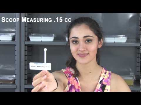 Scoop - Measuring .15 cc