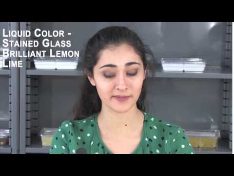 Liquid Color - Stained Glass Brilliant Lemon Lime
