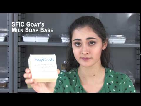 SFIC Goats Milk Soap Base Soy Free