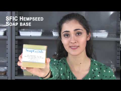 SFIC Hemp Seed Oil Soap Base Soy Free
