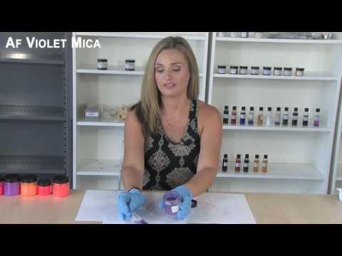 AF Violet Blue Mica