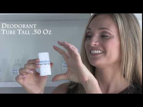 Deodorant Tube Tall .50 Oz
