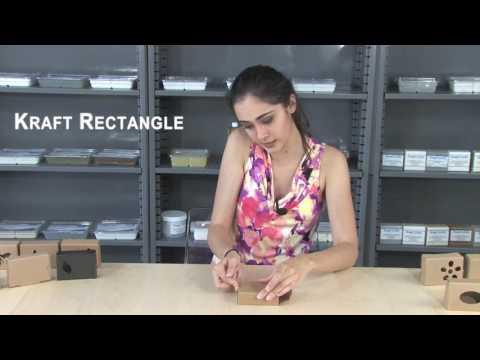 Soap Box - Kraft Rectangle