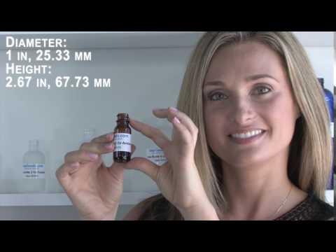 Glass Bottle 1/2 Oz Amber