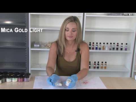 Mica - Gold Light