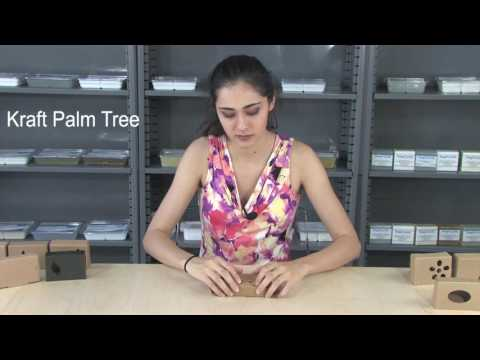 Soap Box - Kraft Palm Tree