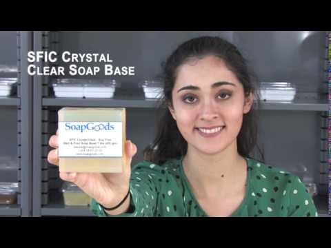 SFIC Crystal Clear Soap Base Soy Free