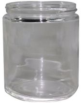 Glass Jar 8 Oz Clear