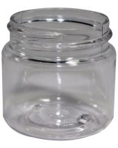 Plastic Jar 1 Oz Clear Tall