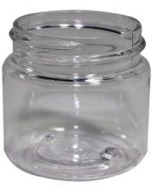 Plastic Jar 1 Oz Clear Tall