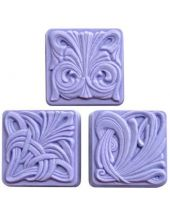Nature Art Nouveau Tiles Soap Mold