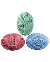 Nature Bouquets Soap Mold