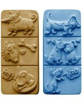 Nature Breakaway Dogs Soap Mold