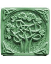 Nature Celtic Clover Soap Mold