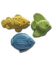 Nature Fish Three Soap Mold