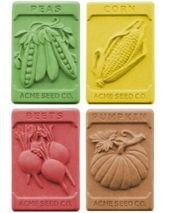 Nature Garden Seeds Soap Mold