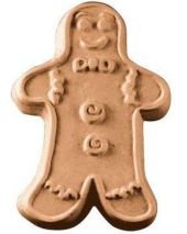 Nature Gingerbread Man Soap Mold