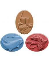 Nature Gone Fishing Soap Mold