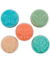 Nature Guest 5 Butterfly Soap Mold
