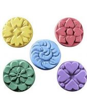 Nature Guest 5 Flowers Soap Mold