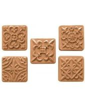 Nature Guest Medieval Tiles Soap Mold