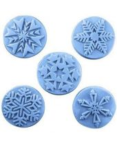 Nature Guest Snowflakes Soap Mold