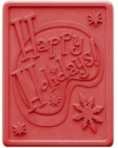 Nature Happy Holidays Soap Mold