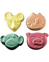 Nature Kid Critters 2 Soap Mold