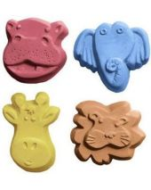 Nature Kid Critters 4 Soap Mold