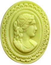 Nature Large Cameo Soap Mold