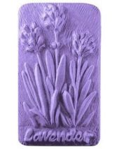 Nature Lavender Bar Soap Mold