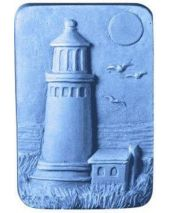 Nature Lighthouse Soap Mold