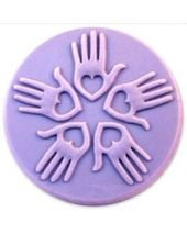 Nature Loving Hands Soap Mold