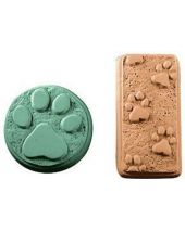 Nature Paw Prints Soap Mold