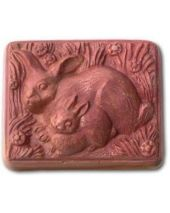 Nature Rabbits Soap Mold