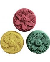 Nature Rosettes Soap Mold