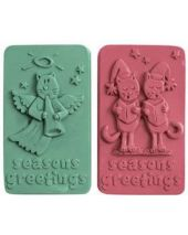 Nature Seasons Greetings Soap Mold