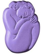 Nature Sleeping Woman Soap Mold