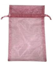 Organza Bag - Rose 5 x 8