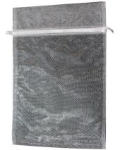 Organza Bag - White 8 x 12