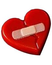 Stylized Broken Heart Soap Mold
