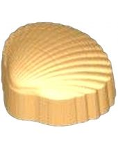 Stylized Clam Shell Soap Mold
