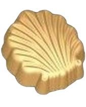 Stylized Fanned Shell Soap Mold