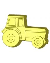 Stylized Farm Tractor Soap Mold