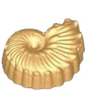 Stylized Fossil Shell Soap Mold