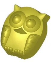 Stylized Olive the Owl Soap Mold